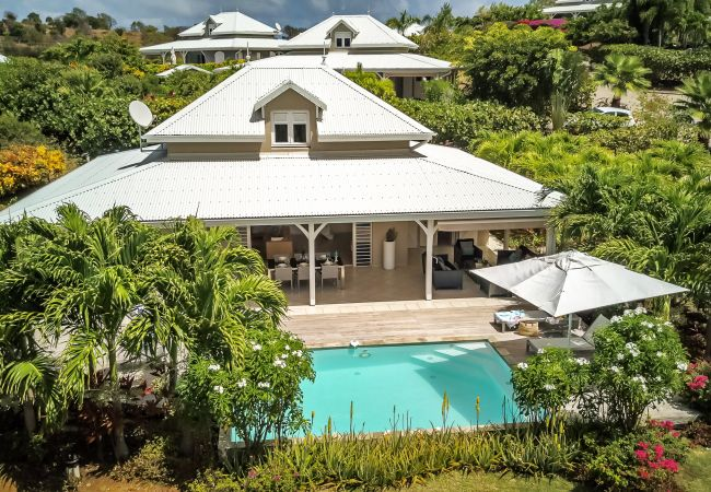Villa/Dettached house in Le Vauclin - Majestic Palm - Dream villa feet in the water